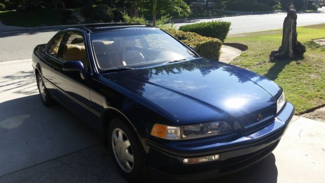 1991 Acura Legend L model with Optional Leather