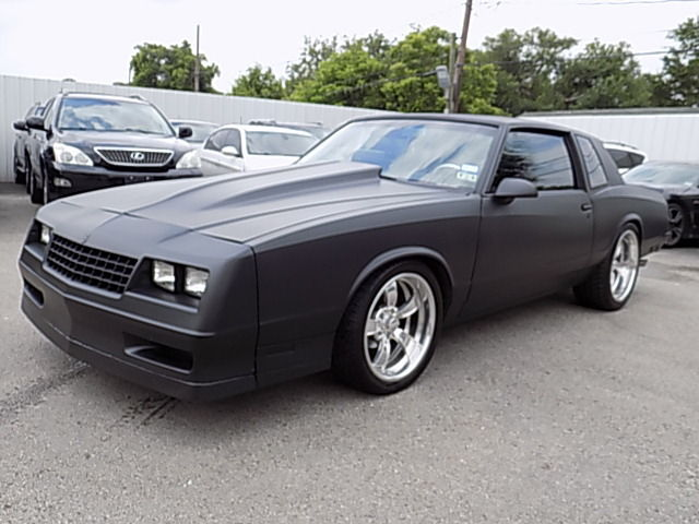 1987 Chevrolet Monte Carlo LS/SS