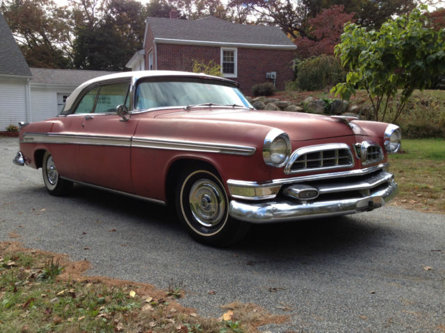 1955 Chrysler New Yorker 2 door