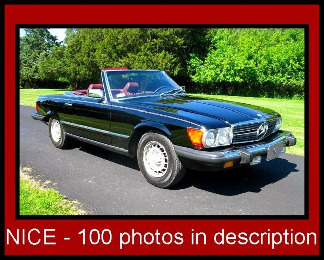 1985 Mercedes-Benz SL-Class Roadster - Cabriolet - Coupe
