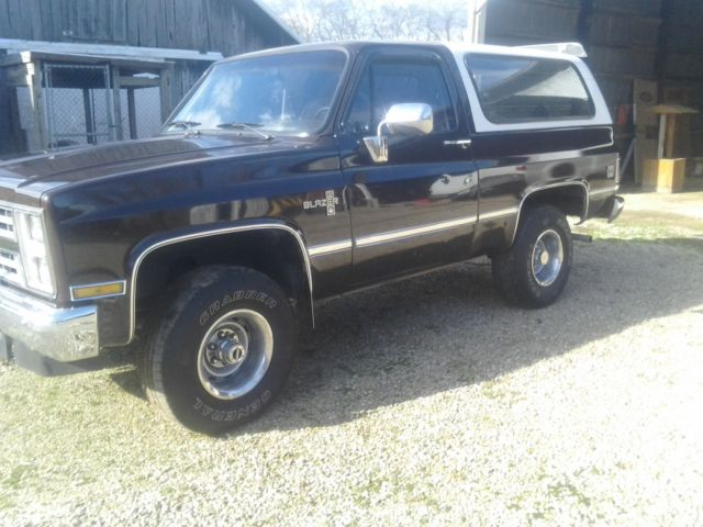 nice 1987 chevy k5 full size blazer for sale photos technical specifications description. Black Bedroom Furniture Sets. Home Design Ideas