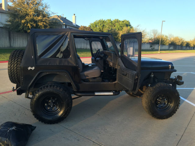 nice 1991 jeep wrangler yj with upgrades and new parts for sale photos technical. Black Bedroom Furniture Sets. Home Design Ideas
