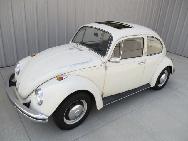 1968 Volkswagen Beetle - Classic Factory Sunroof VW Bug