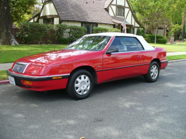 Nice California Rust Free Chrysler Lebaron Convertible No