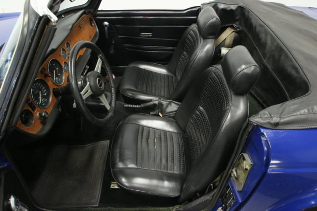 NICE TR6, CORRECT DELFT BLUE, RUNS EXCELLENT, PRICED TO SELL