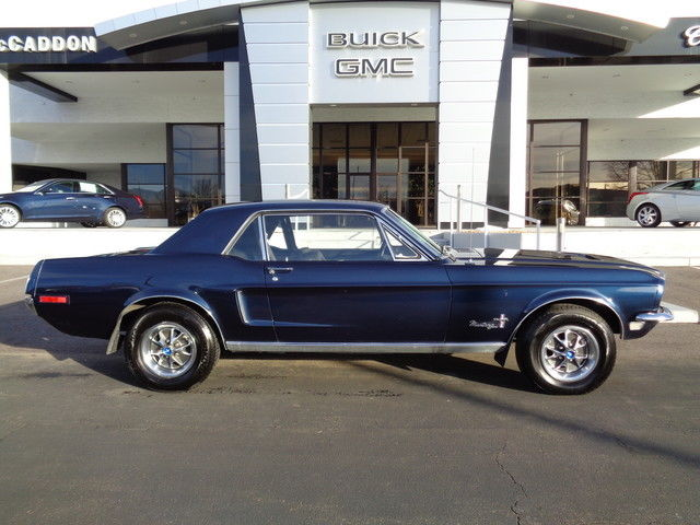 1968 Ford Mustang Notchback Coupe