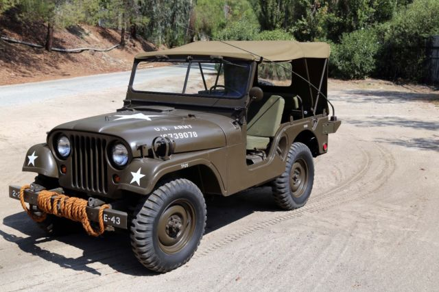 1953 Willys Military Jeep M38-A1