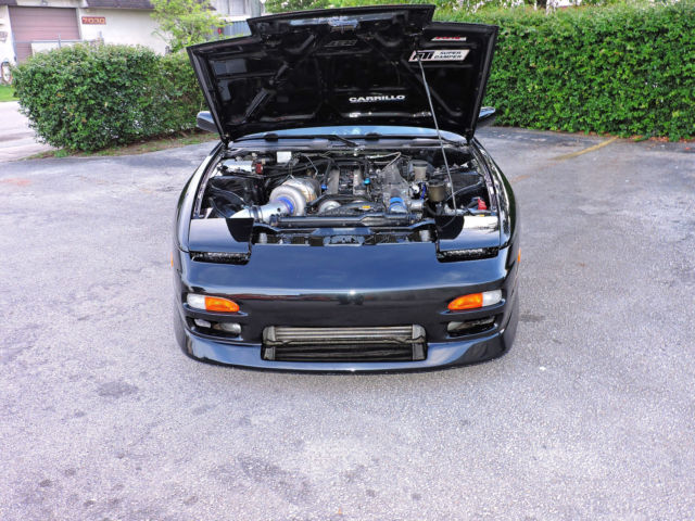 Nissan 240sx s13 2jz gte jdm type x s13 precision tial for Nissan 240sx motor for sale
