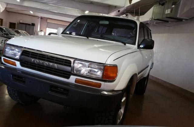 1992 Toyota Land Cruiser FJ80 NO RUST