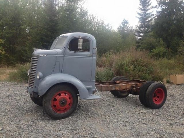 NO RESERVE!!! 1939 Chevrolet COE Cabover Truck Cab and ...