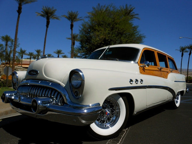 1953 Buick WOODY WAGON NO RESERVE