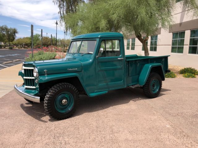1957 Willys 4-63 Pickup 6-266 4WD