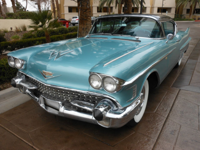 1958 Cadillac DeVille 1958 CADILLAC SERIES 62 COUPE