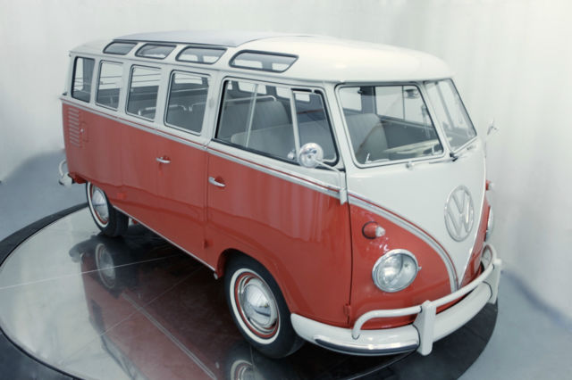 no reserve 1959 vw 23 window deluxe samba bus volkswagen