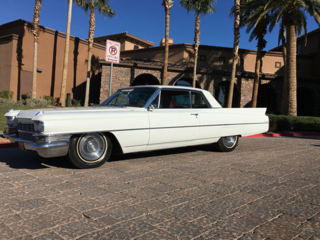 1963 Cadillac DeVille SURVIVOR ORIGINAL SPORT PACKAGE BUCKET SEATS RARE