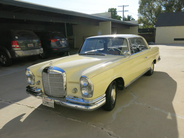 No reserve 1963 mercedes benz w111 220seb coupe 220 seb for 1963 mercedes benz 220s for sale