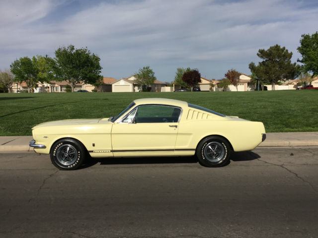1965 Ford Mustang RARE 289 DISC BRAKES A/C PS DUAL EXHAST GT GT A