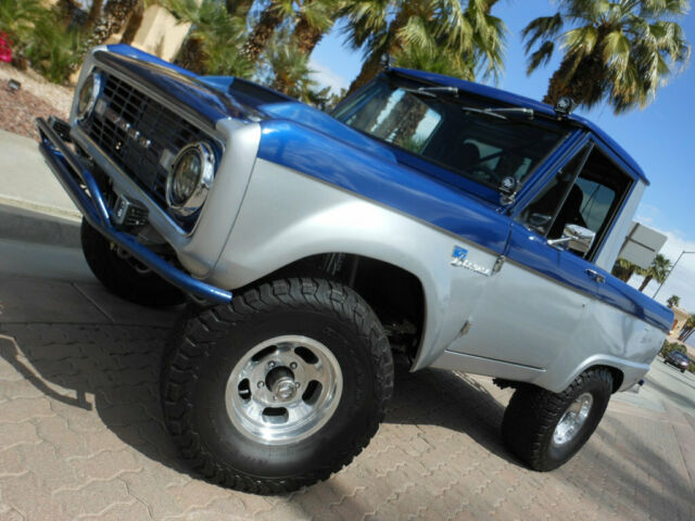 a5b0a73953 NO RESERVE 1966 FORD BRONCO CUSTOM 4X4 5.0L FUEL INJECTED SEMA BEST OF THE  BEST