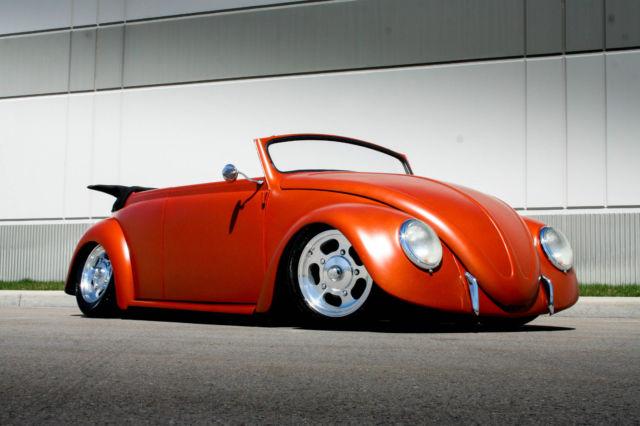 reserve  volkswagen bug hot street rod bagged air ride resto     sale