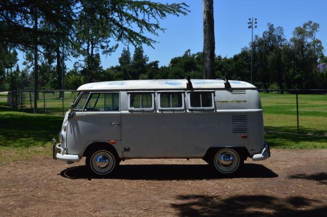 no reserve 1966 volkswagen bus ez camper westfalia split