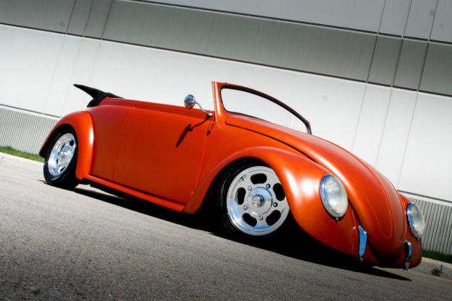 NO RESERVE 1966 VW BEETLE ROADSTER AIR RIDE HOT RAT Rod Fast RUST FREE AZ CAR for sale: photos ...