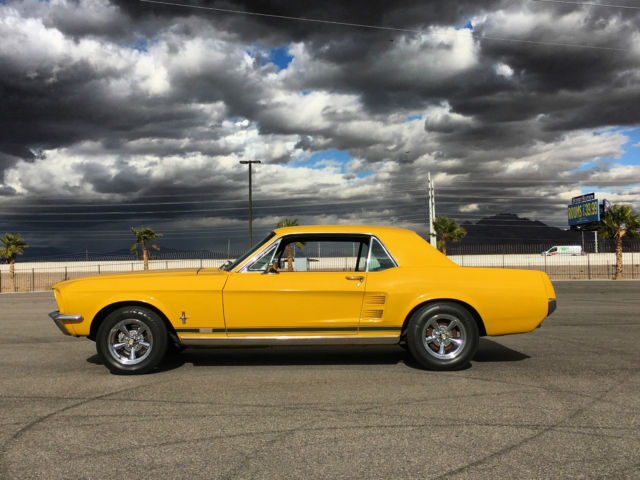 1967 Ford Mustang GT GTA COUPE RARE CLEAN REAL DEAL MARTI REPORT