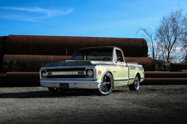 No reserve 1969 chevy c10 big block 454 shop truck patina slammed no reserve 1969 chevy c10 big block 454 shop truck patina slammed 3100 f100 bbc sciox Image collections