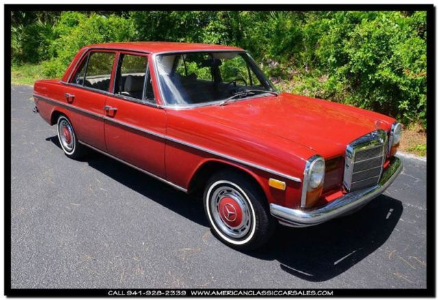 1969 Mercedes-Benz 200-Series W115