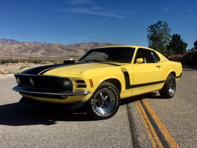No Reserve 1970 Ford Mustang Boss 302 Shaker 5 Speed