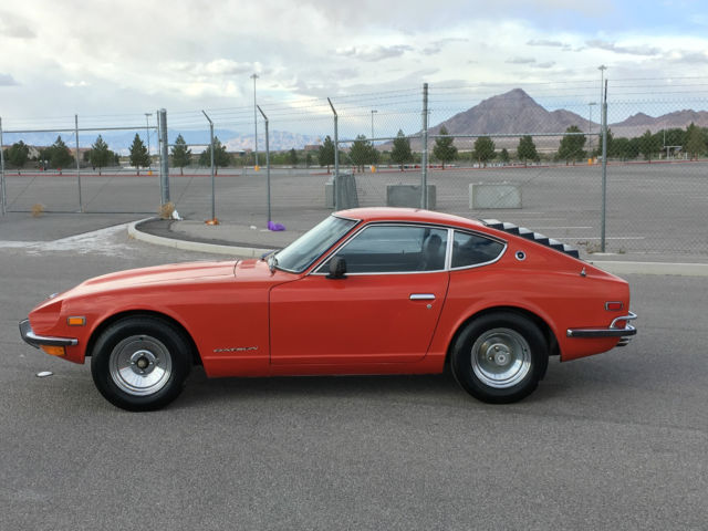 1971 Datsun Z-Series RARE 1 FAMILY OWNED ORIGINAL ORANGE MANUAL STOCK