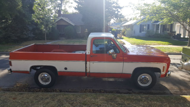 1974 Chevrolet C/K Pickup 2500 Cheyenne Super