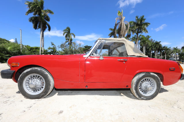 +NO RESERVE+ 1976 MG Midget Convertable Roadster