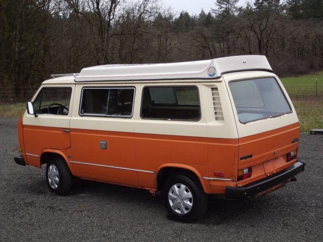 Motors Cars For Sale Property Jobs: NO RESERVE-1980 Vanagon Country Homes Camper. Rebuilt