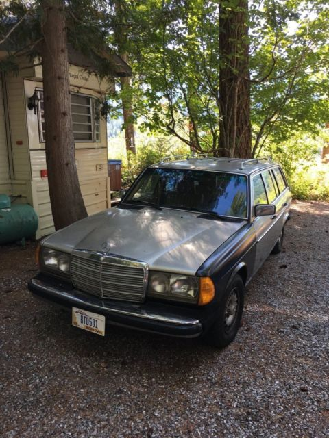1985 Mercedes-Benz 300-Series 300 TD Turbo Diesel Wagon Fully Serviced CARFAX