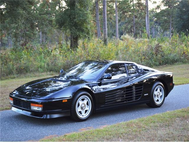 NO RESERVE , 1987 Ferrari Testarossa 43,750 Miles Black
