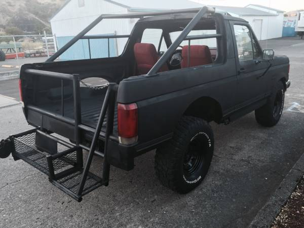 NO RESERVE - 1988 Ford Bronco Custom Sport Utility 2-Door ...