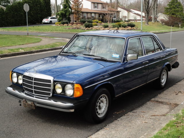 1985 Mercedes-Benz 300-Series 300D TURBO DIESEL! LOADED! ORIGINAL PAINT!