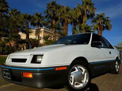 1988 Dodge Shadow NO RESERVE SHELBY SHADOW