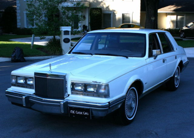 1982 Lincoln Continental NO RESERVE - CA/FL CAR - 62K MILES