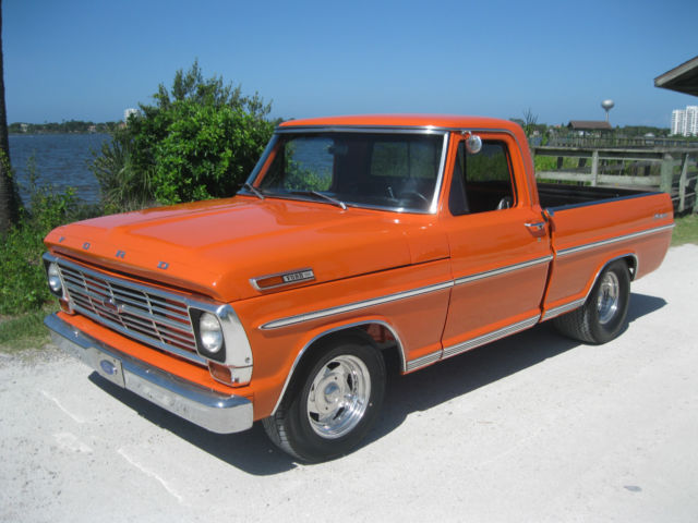 No Reserve Ford F100 Short Bed Pick Up Truck V8 Hot Street