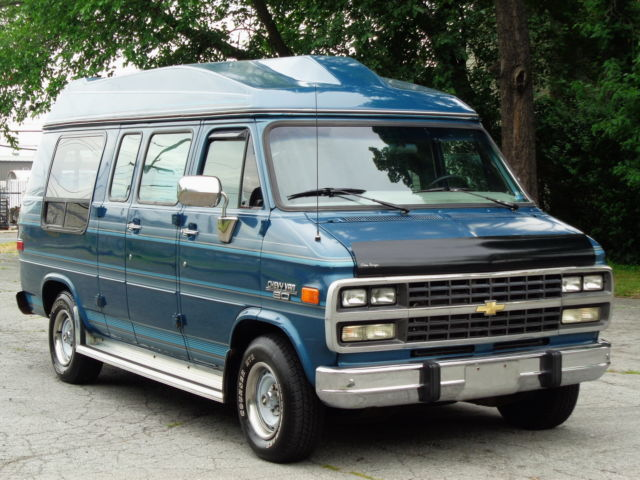 1993 Chevrolet G20 Van HIGH TOP MARK III CONVERSION VAN! 97K MILES!