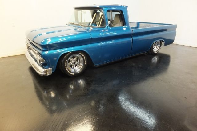 1962 Chevrolet C-10 Bagged Custom Long Bed Gasser Pro Street Hot Rod