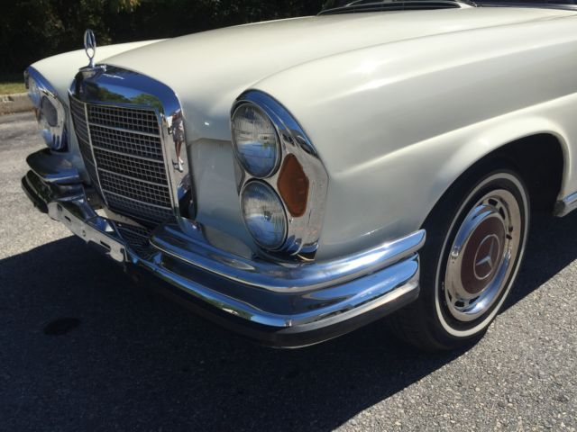 1970 Mercedes-Benz Other Low Grill Coupe W111