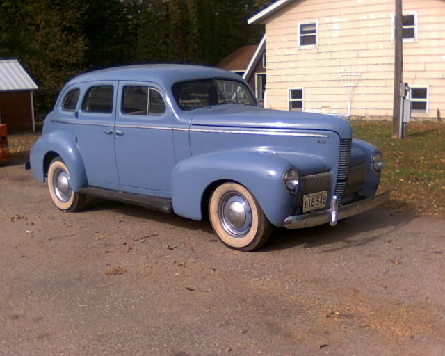 No reserve nice original 1940 nash lafayette 4 door for 1940 door