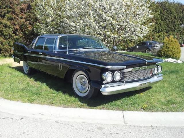 NO RESERVE  Rare Black 61 Chrysler Imperial Crown 76k Not