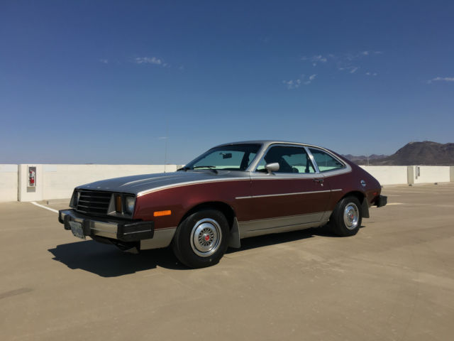 1980 Ford FORD PINTO RARE BARN FIND ALL ORIGINAL 4 SPEED SUPER CLEAN