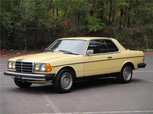 1983 Mercedes-Benz 300-Series 300CD-T COUPE TURBO DIESEL 1 OWNER!  SOLID!