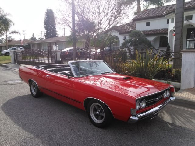 No Reserve 1968 Ford Torino Gt Convertible Keyword Fastback Galaxie