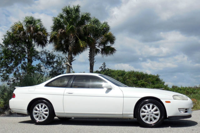 1993 Lexus SC 400 NICEST WHITE FLORIDA CERTIFIED COUPE