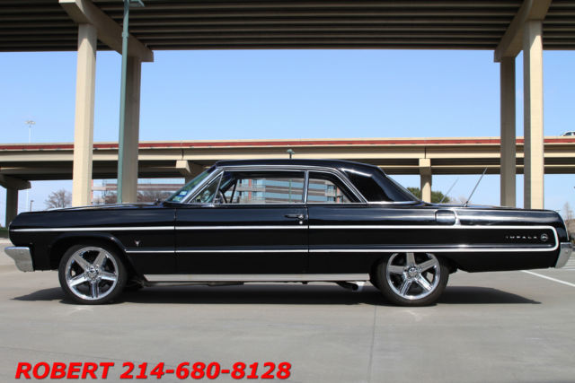1964 Chevrolet Impala NEW V8 383 ENGINE STREET ROD HOLLY 750 HURST SHIFT
